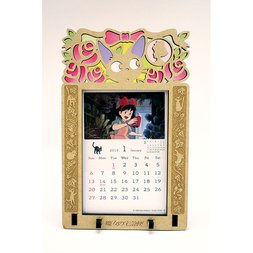 Kiki's Delivery Service 2019 Stained Frame Calendar