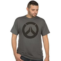 Overwatch Icon Men's Premium Charcoal T-Shirt