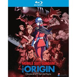 Mobile Suit Gundam: The Origin: Chronicle of Char and Sayla Blu-ray