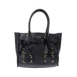 LIZ LISA Ribbon Lace Tote Bag