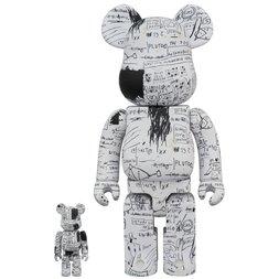 BE@RBRICK Jean-Michel Basquiat No. 3 100% & 400% Set