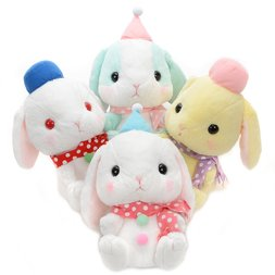 Pote Usa Loppy Snowman Rabbit Plush Collection (Jumbo)