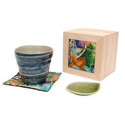 Gosumaki Mino Ware Rock Cup Gift Set