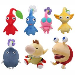Pikmin Plush Collection