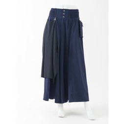 Ozz Conte Hakama Cropped Pants