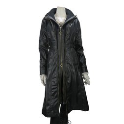 Rozen Kavalier Long Lether Coat