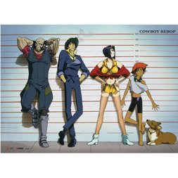 Cowboy Bebop Group Key Art Wall Scroll