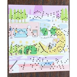 """""""Nessun Dorma"""" Paper-Tape Music Box Manga"""