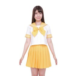 Color Sailor - Sailor Suit Cosplay Outfit (Yellow)