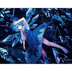 Touhou Project B2 Full Color Cirno Tapestry