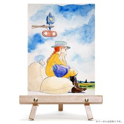 """Bright River Eki ni te"" Chara Fine Canvas Art Board"