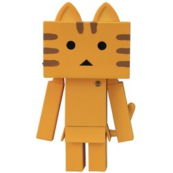 Sofubi Toy Box Nyanboard Tabby Cat