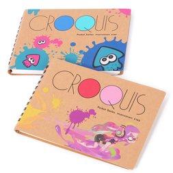 Splatoon Croquis Pocket-Size Sketchbook