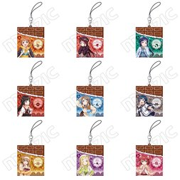 Love Live! Sunshine!! Chocolate Rubber Charm Collection