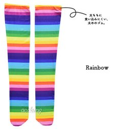 ACDC RAG Rainbow Knee-High Socks