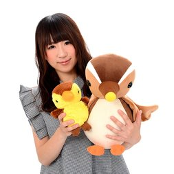 Oyako Gamo Duck Plushies