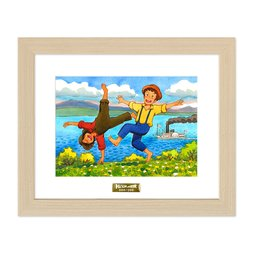 The Adventures of Tom Sawyer Chara Fine Graph Print