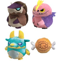 Monster Hunter Mochi Cute Cushion Collection