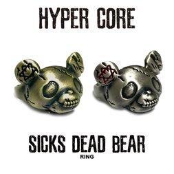 HYPER CORE Sicks Dead Bear Ring