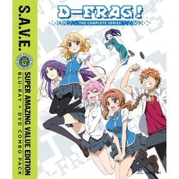 D-Frag! The Complete Series S.A.V.E. Blu-ray/DVD Combo Pack