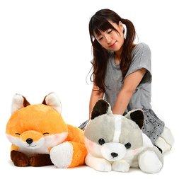 Kogitsune Konkon Curled Tail Fox Plush Collection (Big)