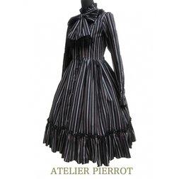 Atelier Pierrot Standing Collar Blouse Dress