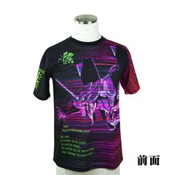 Evangelion Eva Racing 2017 Unit-01 Running Quick Drying Black T-Shirt
