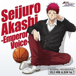TV Anime Kuroko's Basketball Seijuro Akashi Solo Mini Album