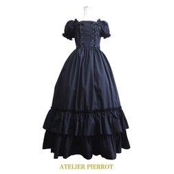 Atelier Pierrot Double Lace-Up Long Dress