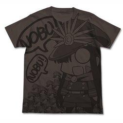 Fate/Grand Order Nobu Gudaguda Honnouji Charcoal Graphic T-Shirt