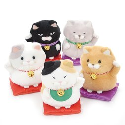 Hige Manjyu Maneki-neko Cat Plush Collection (Standard)
