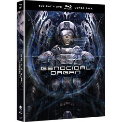 Project Itoh: Genocidal Organ Blu-ray/DVD Combo Pack w/ Ultraviolet Digital Copy