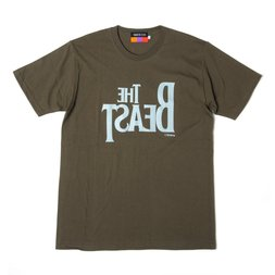 The Beast T-Shirt (Olive Green x Light Gray)