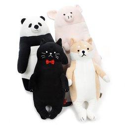 Animal Lesson Mocchiri Medium Hug Pillow Collection