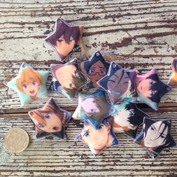 Free! Character Cleaner Straps