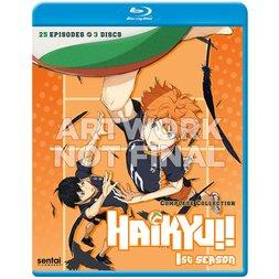 Haikyu!! Season 1 Complete Collection Blu-ray