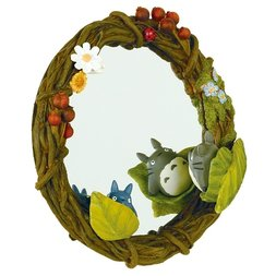 My Neighbor Totoro Totoro Hide-and-Seek Wreath Mirror