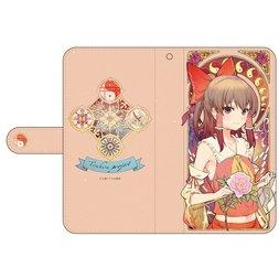 Touhou Project Reimu Hakurei Notebook-Style Smartphone Case