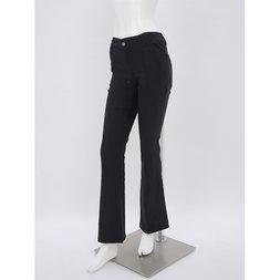 Rozen Kavalier Basic Bootcut Pants (Black)