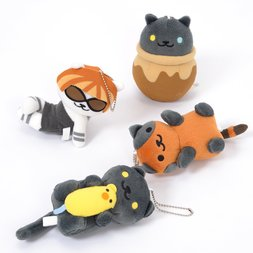 Neko Atsume Big Ball Chain Plush Collection Vol. 13