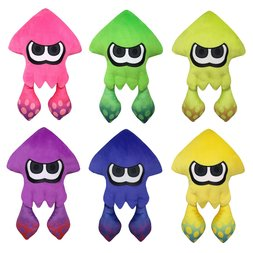 Splatoon 2 All-Star Collection Large Squid Plushies
