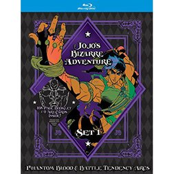 JoJo's Bizarre Adventure Set 1: Phantom Blood & Battle Tendency Blu-ray