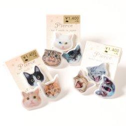 Osewaya Cat Face Earrings