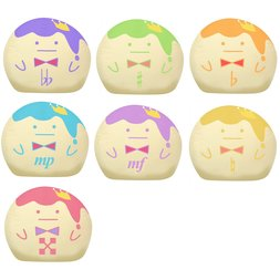 IDOLiSH7 King Pudding Beanbag Collection