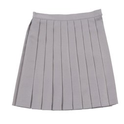 Teens Ever Gray High School Uniform Skirt