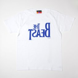 The Beast T-Shirt (White x Royal Blue)