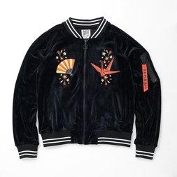 RUPIKA Velour MA1 Jacket