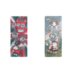 Wachifield Dayan the Cat Goshiki Face Towel