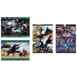 Monster Hunter XX Desk Mats