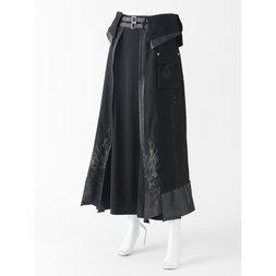 Ozz Conte Asymmetrical Wrap Skirt